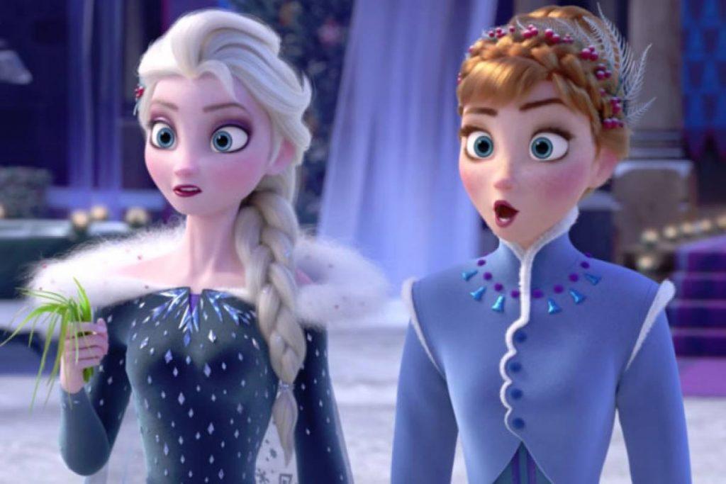 """Foto de Video de """"Mucho más alla"""" (Into the Unknown) de Frozen 2"""