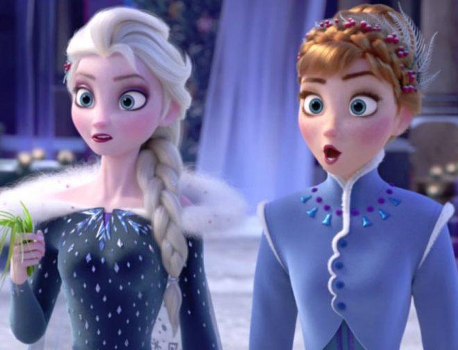 """Fotos de Video de """"Mucho más alla"""" (Into the Unknown) de Frozen 2"""