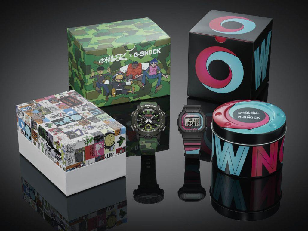 Foto de G-SHOCK colabora con la banda Gorillaz y lanza dos  modelos exclusivos de relojes
