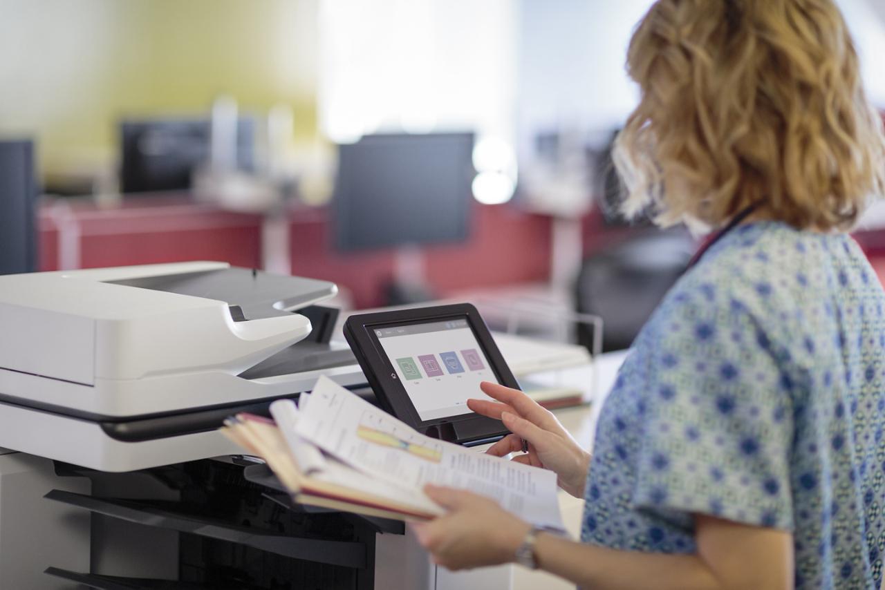 Fotos de Conoce la nueva impresora para el lugar de trabajo, reinventada por HP
