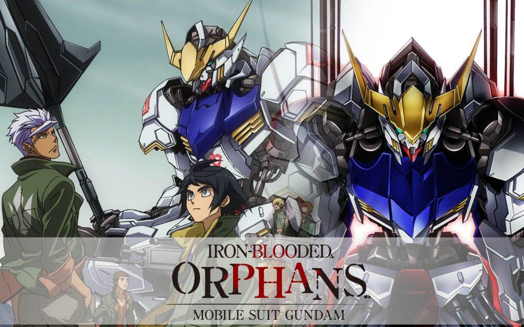 Foto de Las 2 Temporadas de Mobile Suit Gundam: Iron-Blooded Orphans, ya Están en Netflix