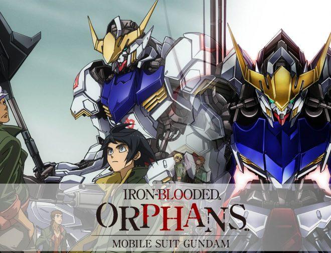 Fotos de Las 2 Temporadas de Mobile Suit Gundam: Iron-Blooded Orphans, ya Están en Netflix