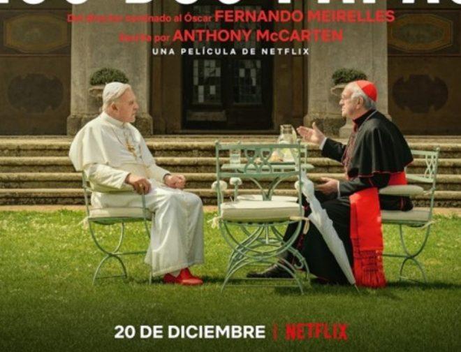 Fotos de La Película de Netflix, Los Dos Papas Llega a los cines de Perú