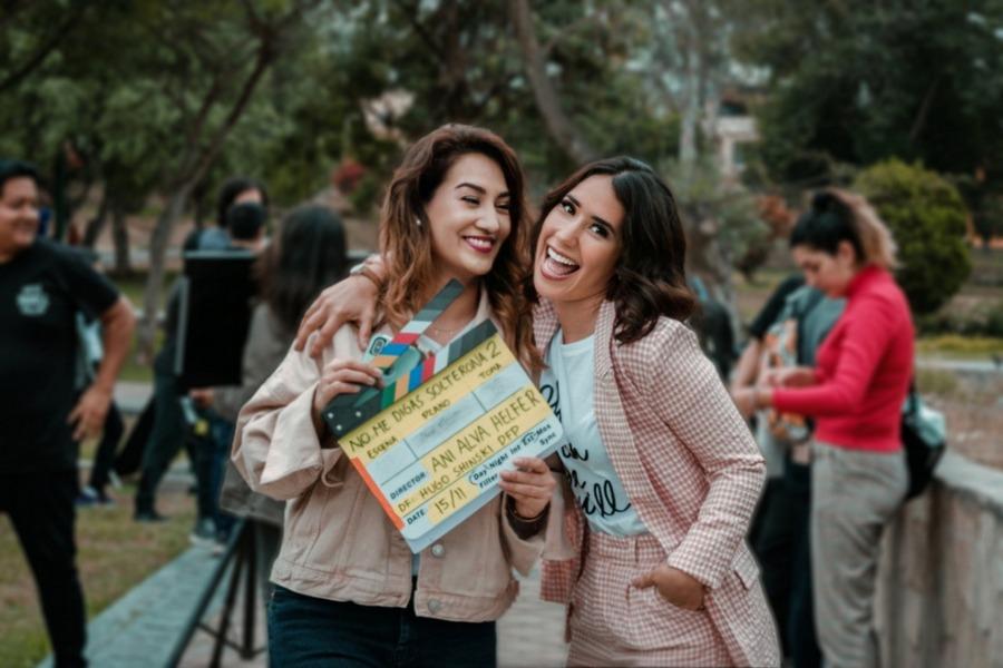 """Foto de Inicia el Rodaje de la Película Peruana """"No me Digas Solterona 2"""""""