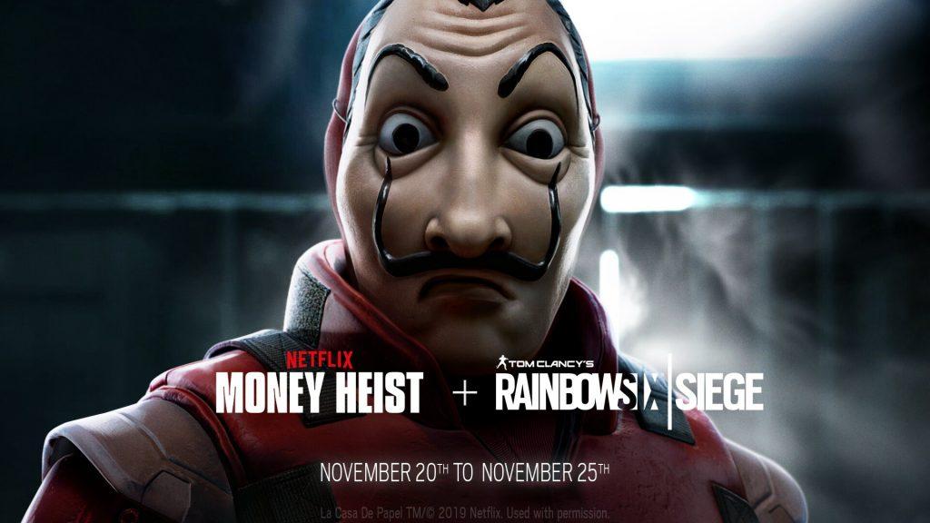 Foto de La Casa de Papel llega a los Videojuegos con un Evento para Rainbow Six Siege