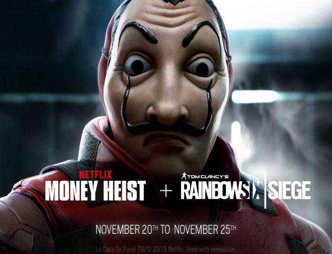 Fotos de La Casa de Papel llega a los Videojuegos con un Evento para Rainbow Six Siege