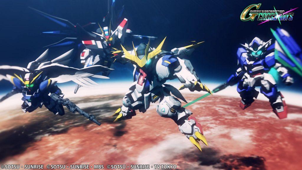Foto de El Videojuego SD Gundam G Generation: Cross Rays, ya se Encuentra Disponible en PC