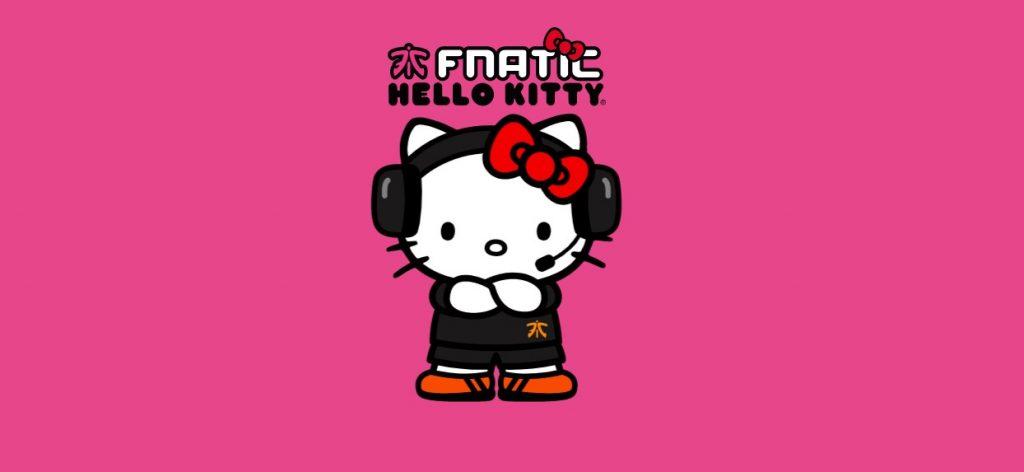 Foto de Conoce la Colección de Fnatic X Hello Kitty