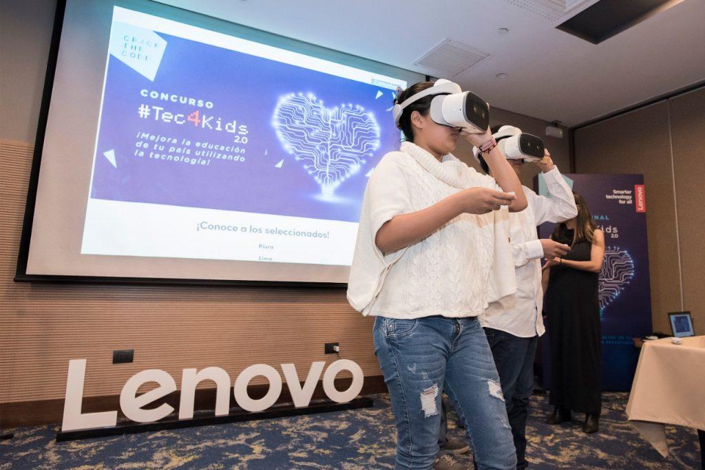 Foto de Tec4Kids II: Escolares elaboraron proyectos de realidad virtual para mejorar la experiencia de aprender