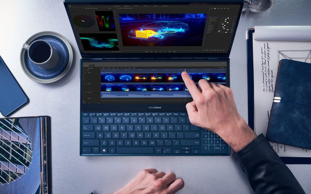 Foto de ASUS presentó la nueva ZenBook Pro Duo con 2 pantallas