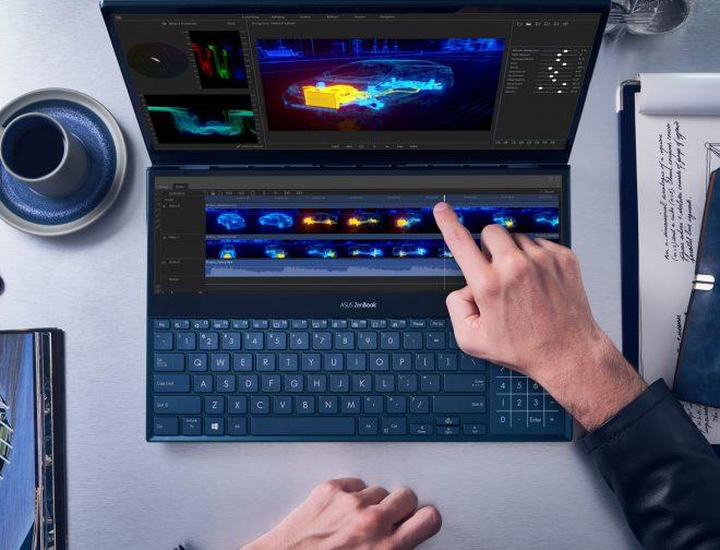 Fotos de ASUS presentó la nueva ZenBook Pro Duo con 2 pantallas