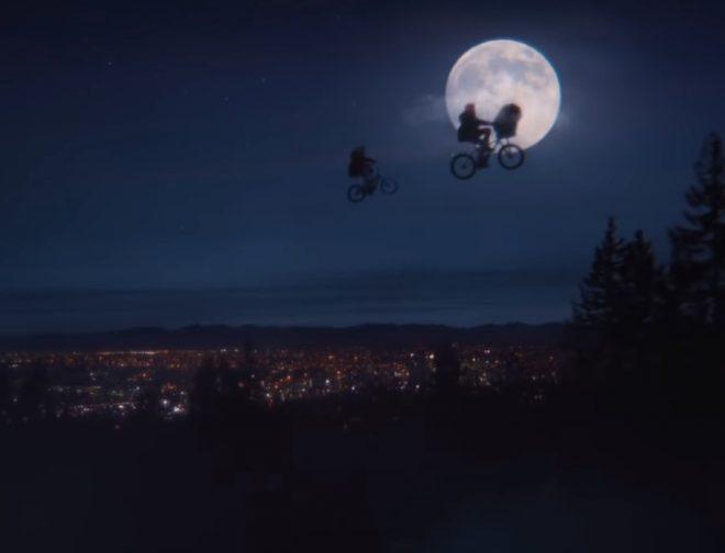 Fotos de E.T. y Elliott se reencuentran por navidad