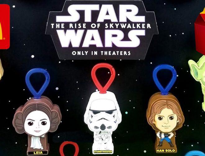 Fotos de Se filtran los juguetes de la Cajita Feliz de McDonald's de Star Wars: El Ascenso de Skywalker