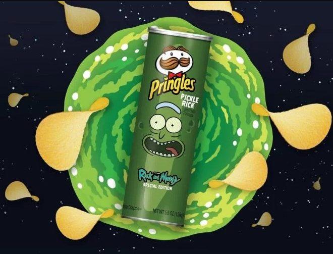 Fotos de En el 2020 Llegan las Pringles de Rick and Morty