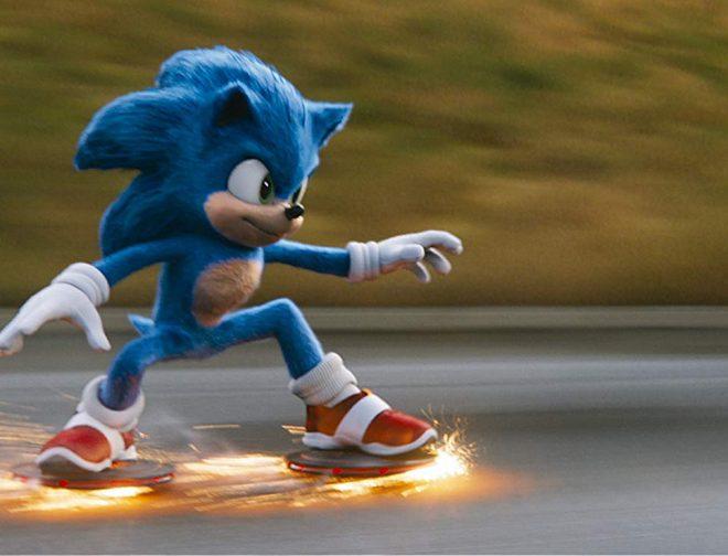 Fotos de Nuevo Spot de Sonic: La Película, Muestra Como Obtiene sus Zapatillas