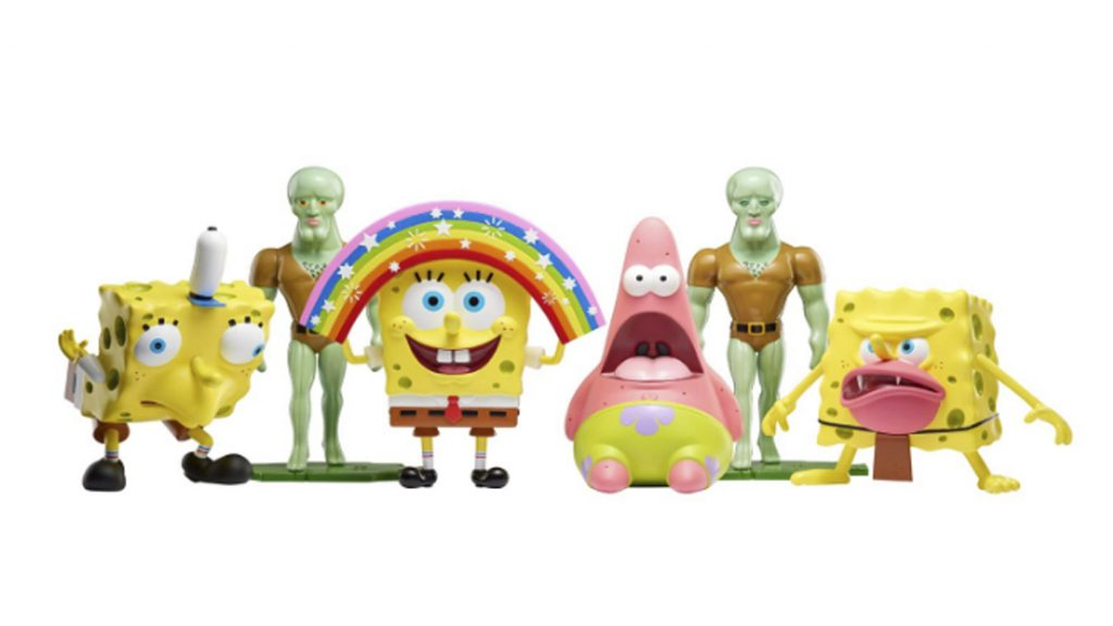 Foto de Muñecos de los memes de Bob Esponja llegaron a tiendas limeñas