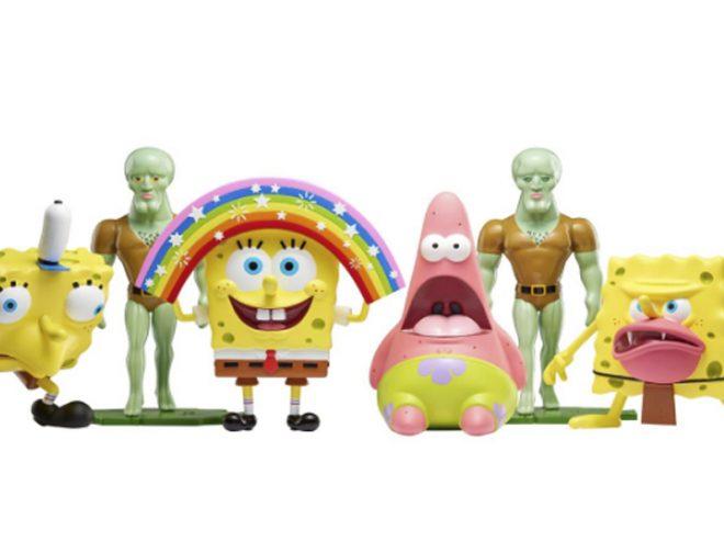 Fotos de Muñecos de los memes de Bob Esponja llegaron a tiendas limeñas