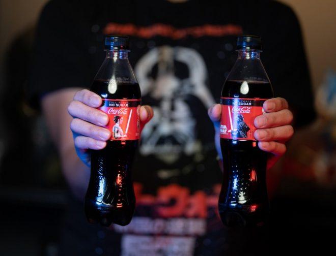 Fotos de Singapur creó la primera botella Coca Cola con Sable de luz de star wars