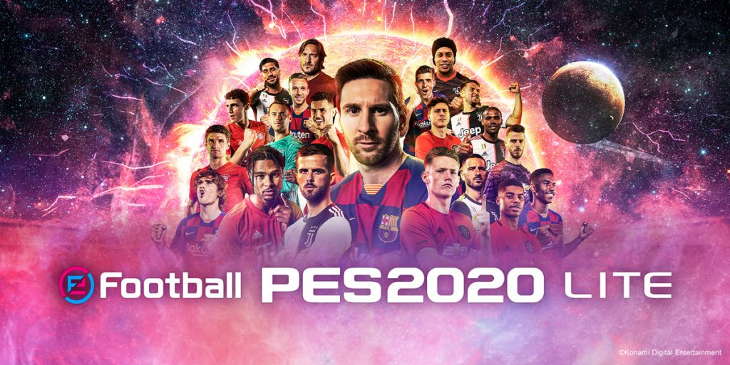 Foto de Konami Lanza eFootball PES 2020 LITE, Juego Gratuito