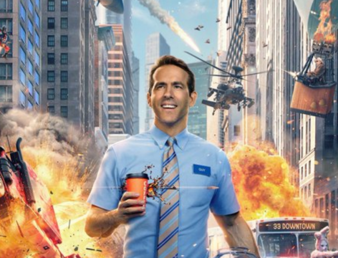 Fotos de Primer Tráiler de Free Guy: Tomando El Control, Película con Ryan Reynolds
