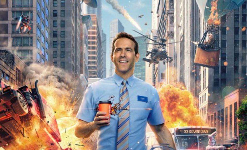 Foto de Primer Tráiler de Free Guy: Tomando El Control, Película con Ryan Reynolds