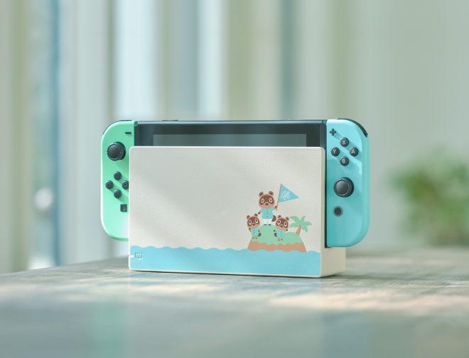 Fotos de Hermosa edición de Nintendo Switch inspirada en Animal Crossing: New Horizons