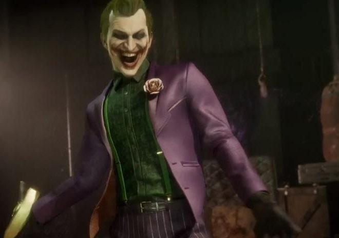 Fotos de Gameplay Oficial de El Joker, Nuevo Personaje de Mortal Kombat 11