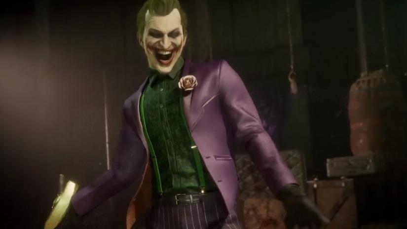 Foto de Gameplay Oficial de El Joker, Nuevo Personaje de Mortal Kombat 11