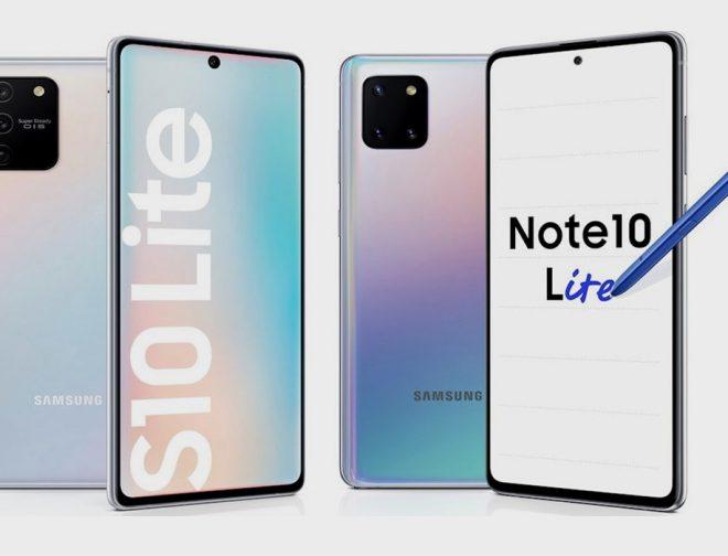 Fotos de CES 2020: Samsung Lanza el Galaxy S10 Lite y el Note10 Lite, Conoce más de Ellos Aquí