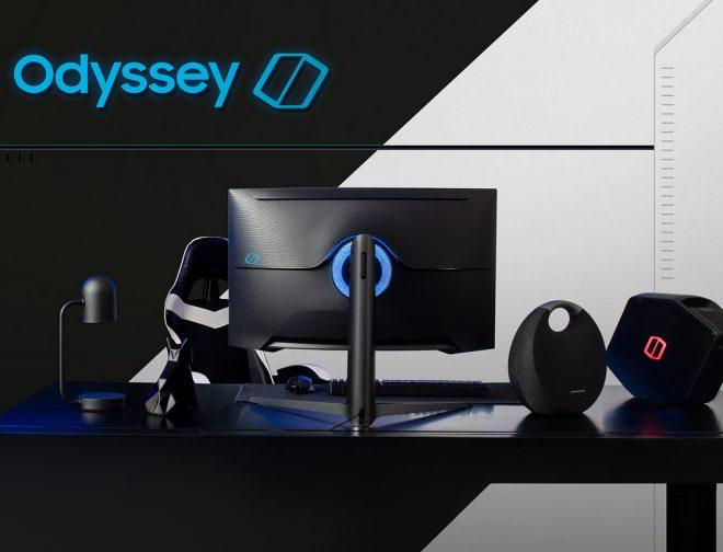 Fotos de CES 2020: Samsung Presentan sus Nuevos Monitores para Videojuegos de la Línea Odyssey