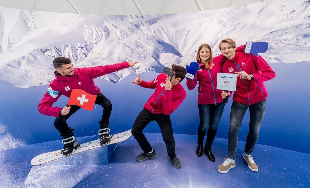 Foto de Samsung continúa su compromiso con el movimiento olímpico y los atletas jóvenes en Lausana 2020