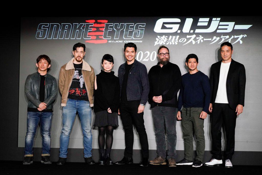 Foto de La Esperada Película Snake Eyes: G.I. JOE Origins. Inicia Producción en Japón