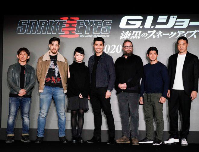 Fotos de La Esperada Película Snake Eyes: G.I. JOE Origins. Inicia Producción en Japón