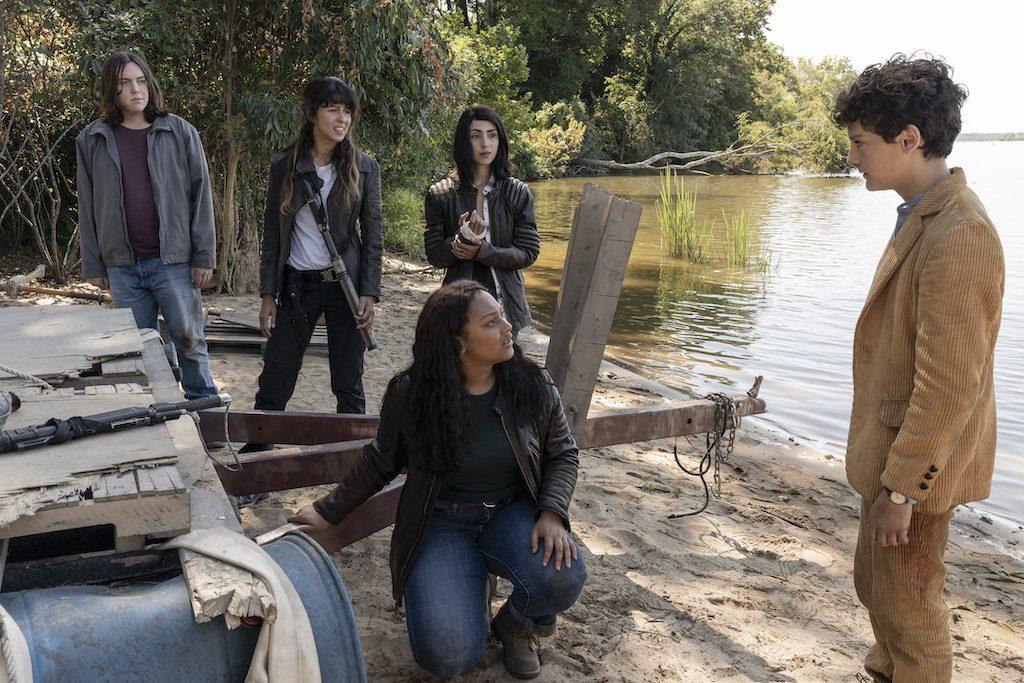 "Foto de The Walking Dead: World Beyond"" confirma fecha de estreno por AMC"