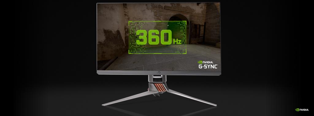 Foto de NVIDIA y ASUS rompen el mercado y presenta monitor de 360Hz