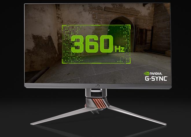 Fotos de NVIDIA y ASUS rompen el mercado y presenta monitor de 360Hz