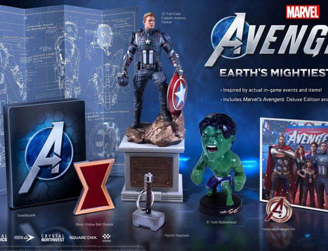 Fotos de Square Enix presenta la Marvel's Avengers: Earth's Mightiest Edition