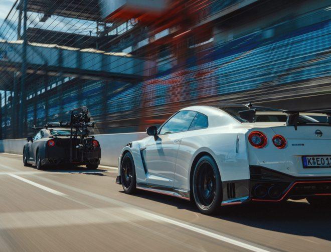 Fotos de [Video] El Nuevo y Agresivo Nissan GT-R Nismo, Tuvo que ser Filmado por Otro GT-R Nismo