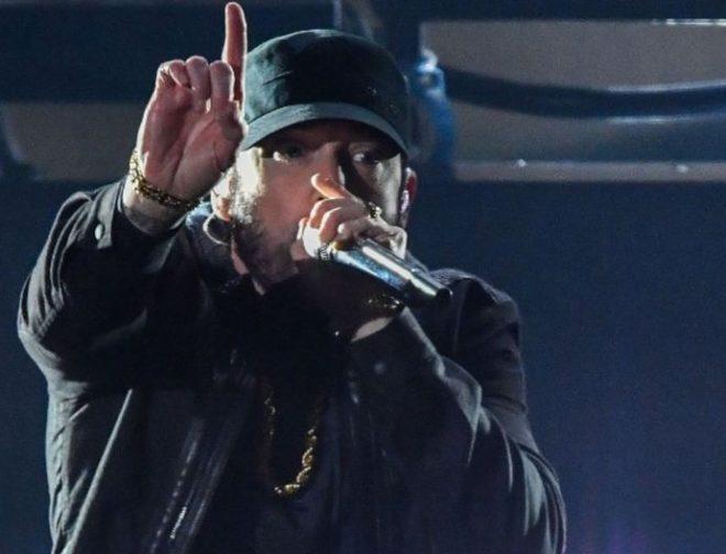 """Fotos de Se hizo justicia y Eminem cantó """"Lose Yourself"""" en los Oscar 2020"""