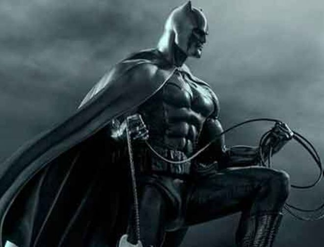 Fotos de El Director Matt Reeves Comparte el Primer Vistazo al Traje de The Batman