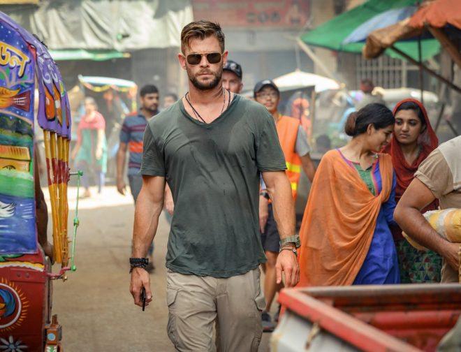 Fotos de Primer Póster y Fotos de Misión de Rescate Película con Chris Hemsworth de Netflix