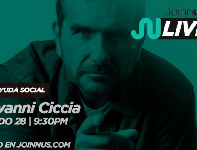 Fotos de Joinnus LIVE Presenta: Encerrona con Giovanni Ciccia