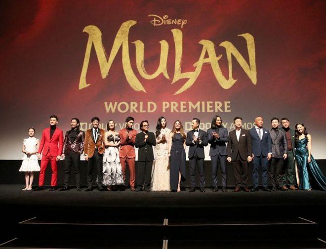 """Fotos de Jesús Alzamora Asistió a la Premiere Mundial de """"Mulan"""" en Hollywood"""