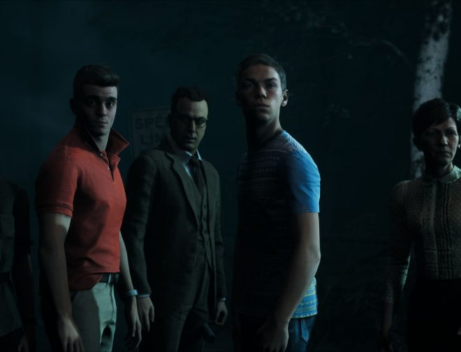 Fotos de Así se filmó parte de la captura de movimiento del juego The Dark Pictures Anthology: Little Hope