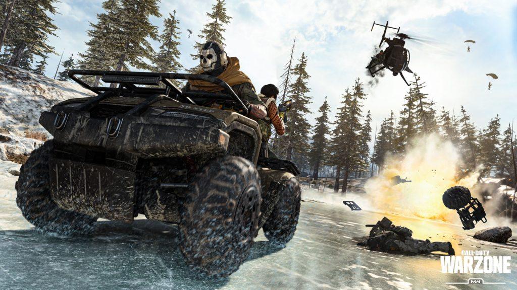Foto de NVIDIA lista para Call of Duty: Warzone