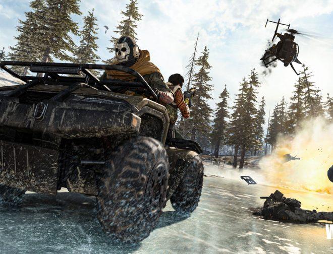 Fotos de NVIDIA lista para Call of Duty: Warzone