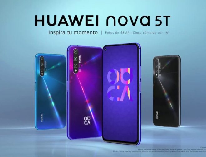 Fotos de Llegan a Perú los nuevos colores del Huawei Nova 5T