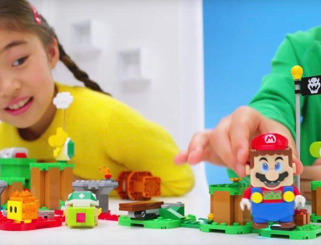 Fotos de Mario Bros y LEGO presentan su primera colaboración