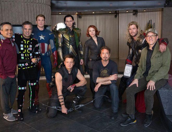 Fotos de Los Hermanos Russo Comparten Algunos Detalles al Año de Haberse Estrenado Avengers Endgame