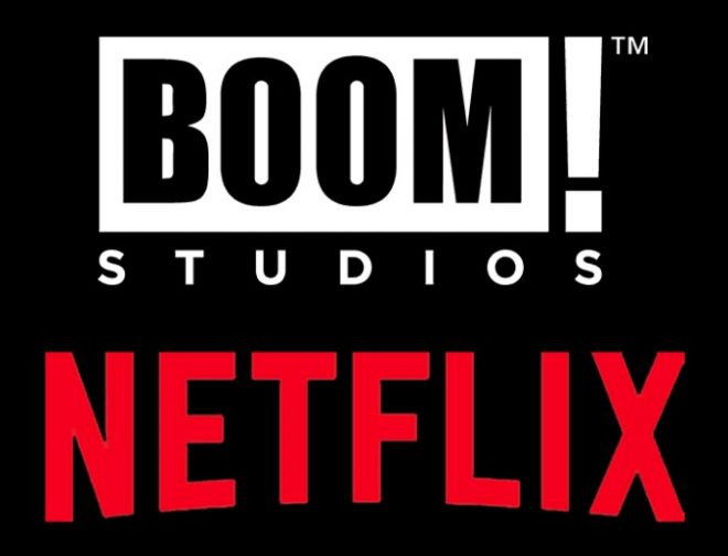 Fotos de La Editorial de Cómics BOOM! Studios Firma Acuerdo con Netflix